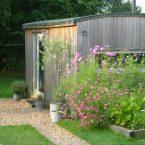Alice Robson's garden studio building