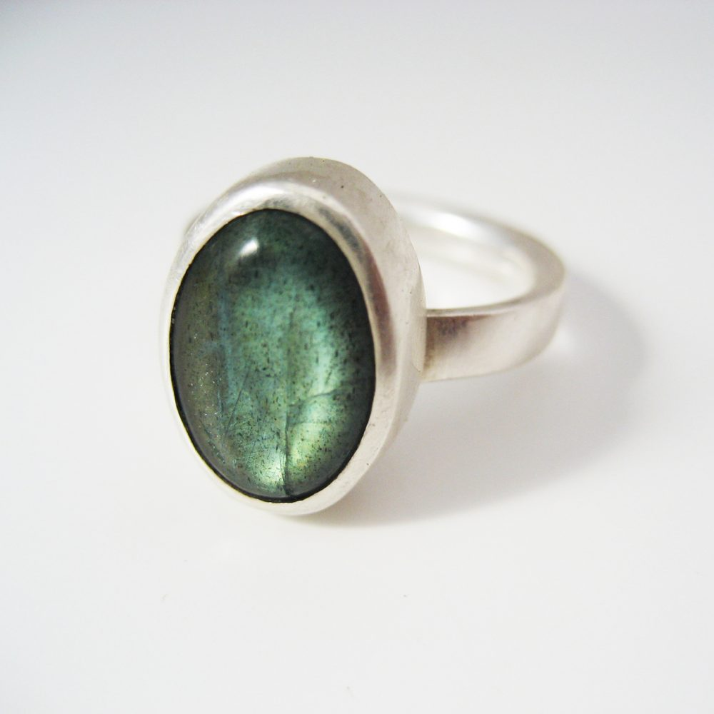 student project labradorite ring