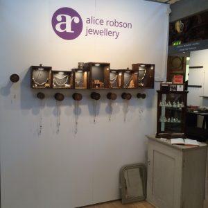 Alice robson jewellery at Handmade 15