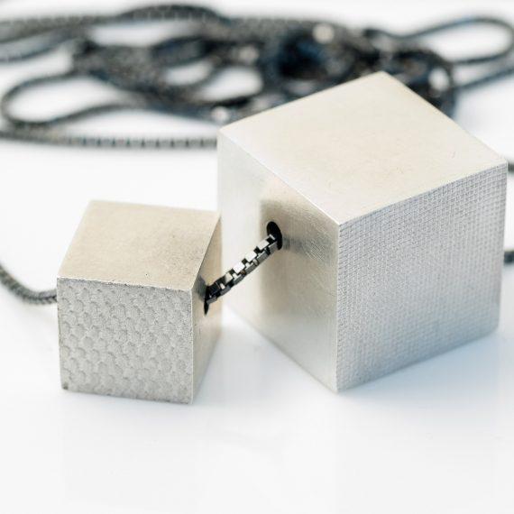 Large cube pendant
