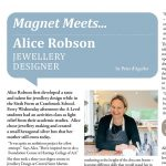 Magnet meets Alice Robson