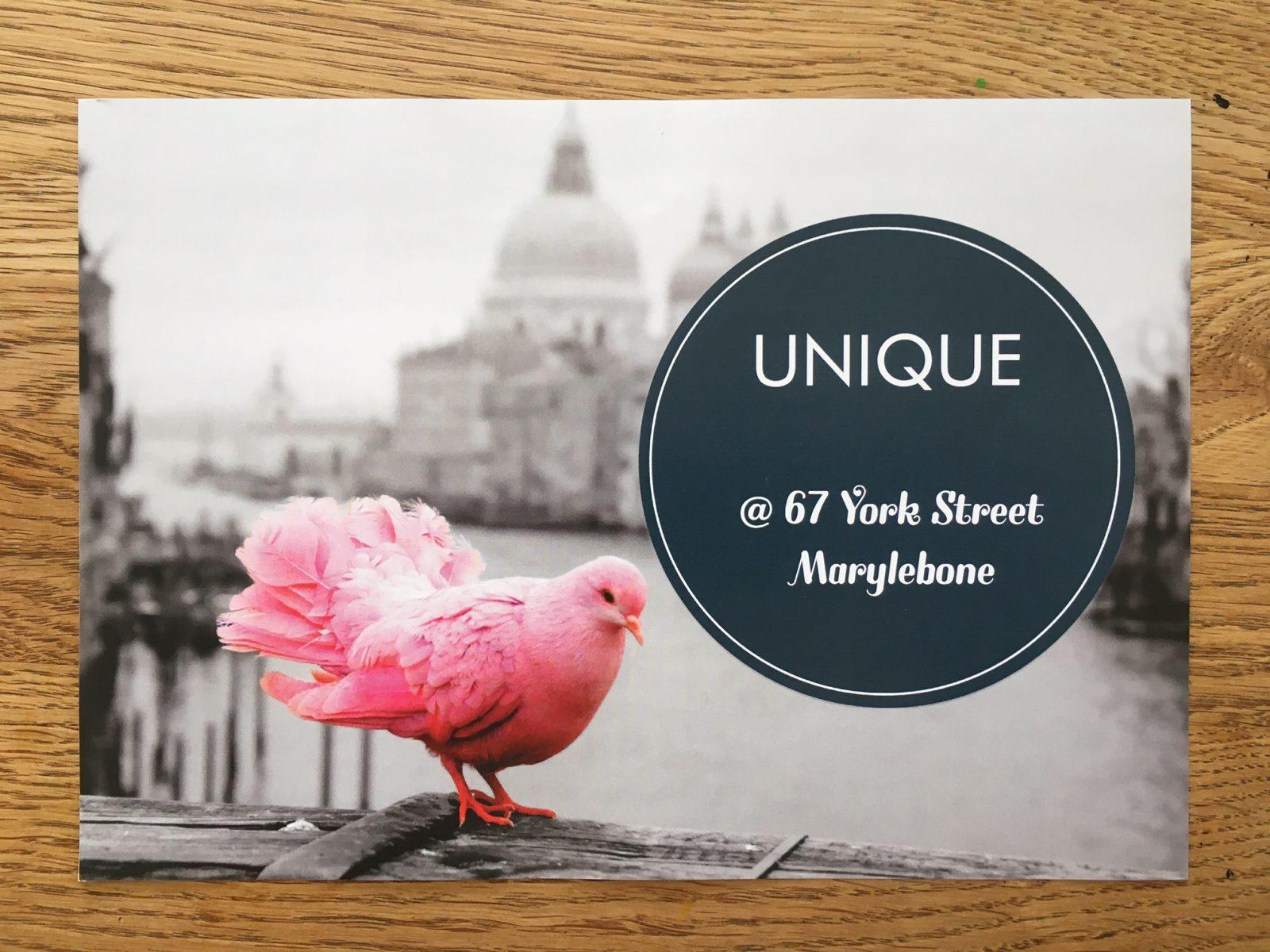 Unique popup Marylebone