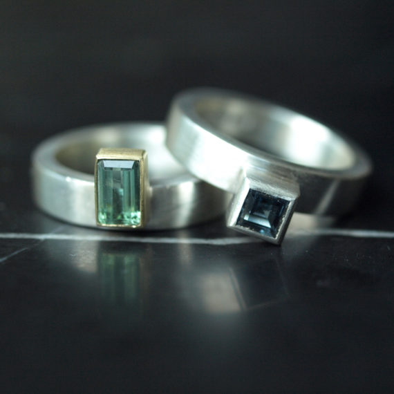 Geometric stacking rings